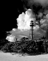 Sanibel Lighthouse, Cumulus Clouds II