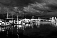 Fort Myers Yacht Basin, Approaching Storm