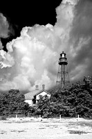Sanibel Lighthouse, Cumulus Clouds
